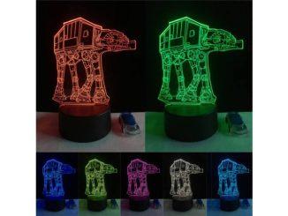 3D lámpa